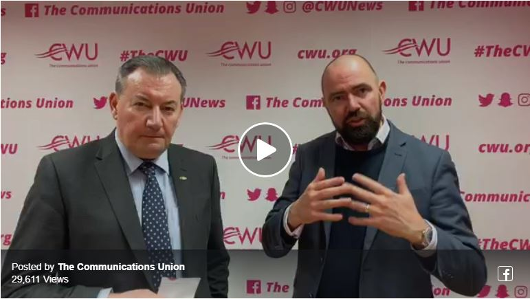 BREAKING NEWS: LIVE with DGSP Terry Pullinger – We are re-balloting our members nationally