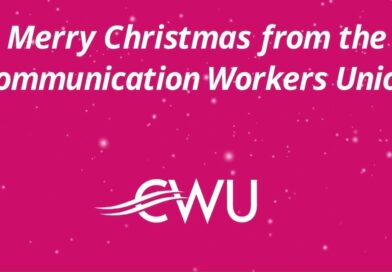 CWU members have kept the country connected in 2020